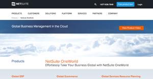Logo of Netsuite OneWorld