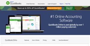 Logo of QuickBooks Online