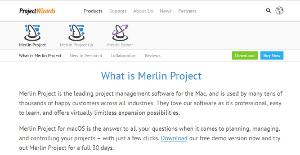Logo of Merlin Project