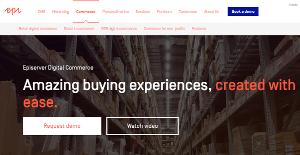 Logo of Episerver Digital Commerce